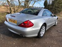 2004 54 MERCEDES BENZ SL CLASS 3.7 SL350 2DR AUTO HISTORY MOT AUG 18 ROOF WORKS DRIVES A1 PX SWAPS