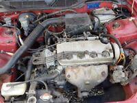 honda civic 1.4 petrol engine & all ancilliaries EJ9 D14A4