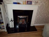 Fireplace for sale. Recently resprayed by Purespray.