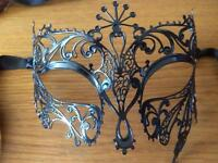 Masquerade Masks x 4 (sold together or separately)