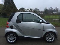 Smart fortwo Passion, Low Mileage, Full Service History, Automatic, Cheap Road Tax