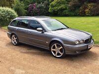Jaguar X Type Diesel Estate 2005, Full Service History, 12 Months M.O.T