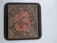 William Morris tablemats PIMPERNEL HONEYSUCKLE