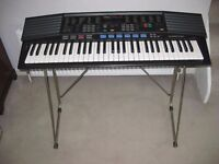 Yamaha PSR-47 Electric Keyboard with stand and power supply