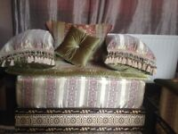 Handmade Moroccan Sofa (imported from Morocco) - Practically brand new