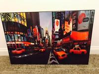 Time Square Glossy Canvas