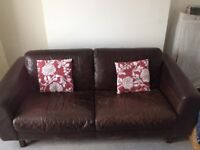 Good Quality 3 seater Leather Sofa,