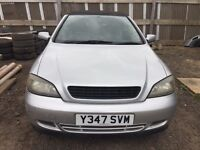 Vauxhall Astra silver breaking for parts / spares