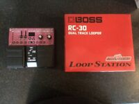 Roland rc 30 dual track loop pedal