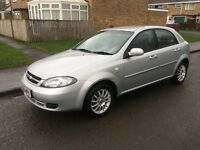 55 PLATE CHEVROLET LACCETI 1.6 SX 58K FULL SERVICE HISTORY 1 OWNER DRIVES SUPERB CHEAP CAR MUST SEE