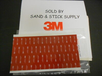 3m 5952 Black Vhb .045double Stick Foam Tape  1 4 X 8 Sheet Gopro Mount