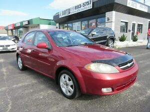 2004 Chevrolet Optra 5 LS (Sunroof, manuel A/C, Electric doors/w