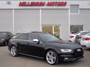 2015 Audi S4 3.0T AWD PROGRESSIV LEATHER/ SUNROOF/ DRIVE SELECT