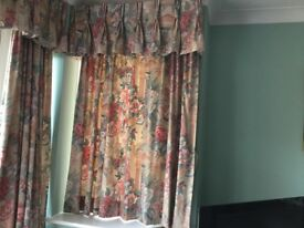Job Lot of Curtains / Roman Blinds / Material