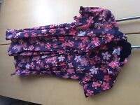 Ladies size 10 La Redoute tunic top/dress, good condition from pet and smoke free home