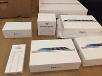 Genuine Apple Empty boxes; Macbook, iPad, iPhone 6, iPad, Airport Express, etc