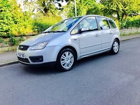 Ford Focus c-max 2.0diesel 05 Plate 6 speed manual Ghia model full spec full history service