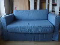Ikea Sofa Bed (blue). Excellent Condition.