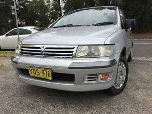 7 Seater Mitsubishi Nimbus Auto Logbook 2 Keys Good Rego Reliable Sutherland Sutherland Area Preview