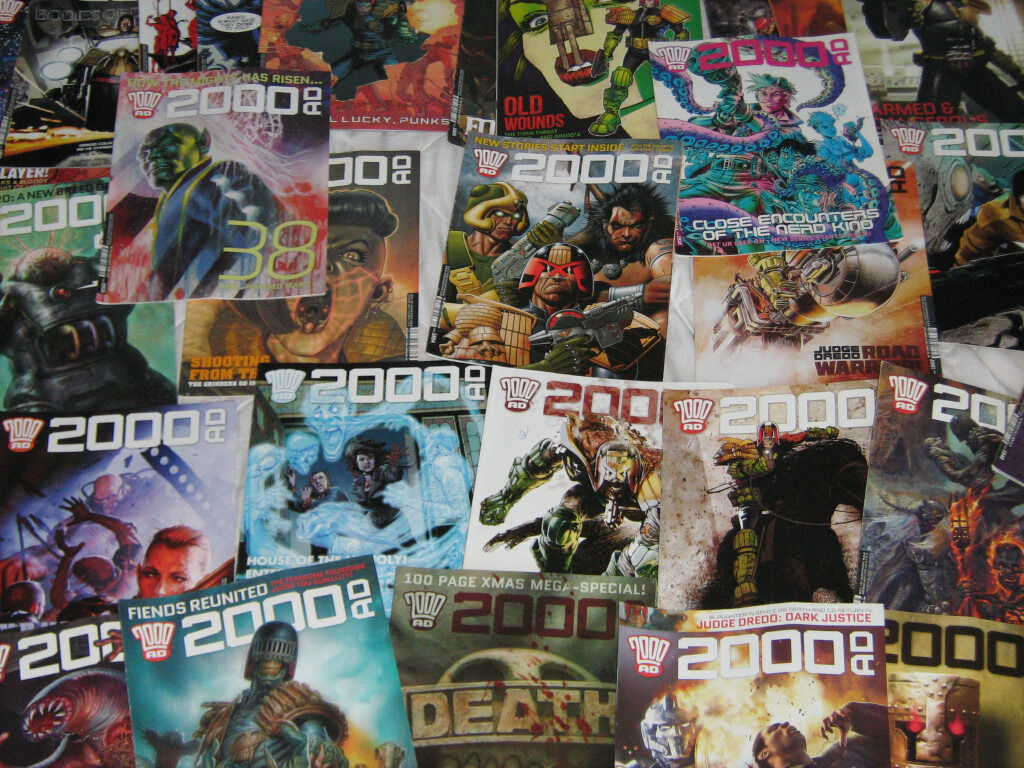 2000 ad comics 50 issues complete 2015, +many more.