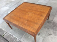 Teak G-Plan Coffee Table , good solid table . Size L 34in D 34in H 17in. Free local delivery.