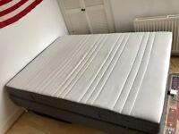IKEA BED - Memory foam mattress, King Size