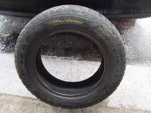 """1-Only 175 65 14"""" Goodyear Nordic Winter at 9/32"""