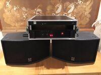 Martin Audio Speakers - ICT 300 (Pair) & controller