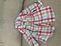 Petit Bateau boys shirt 6mths VGUC