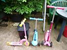 Scooter x 3, in good condition, different prices