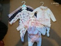 0-3 and 3-6 baby girl clothes vgc includes a range of items