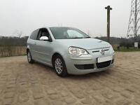 2008 58 Volkswagen Polo 1.4 TDI Bluemotion Just serviced,£0 road tax!, 2 keys