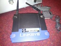 Linksys broadband router. Model No WRT54GS ver 6.