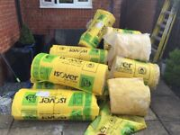 Is over acoustic wall insulation left over from job. Job lot