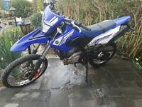 2013 Yamaha WR 125 R 1900 miles only