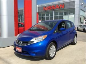 2016 Nissan Versa Note SV, backup camera, streaming Bluetooth