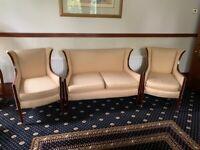 Edwardian cottage 3 piece suite