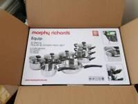 Morphy Richards pan set