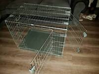 Rosewood dog cage