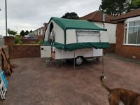 Selling a Conway Trailer with fridge, sink awning and many extras