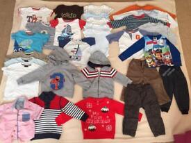 Boys Age 12-18 Months Clothing Bundle