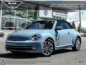 2013 VW Beetle Convertible Auto Blue