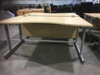 Office desk 1600mm 8 available