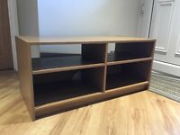 Oak effect tv storage cabinet