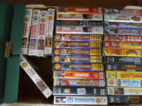 62 WWF Videos. WWE WCW ECW TNA VHS