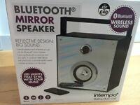 Bluetooth mirror speaker