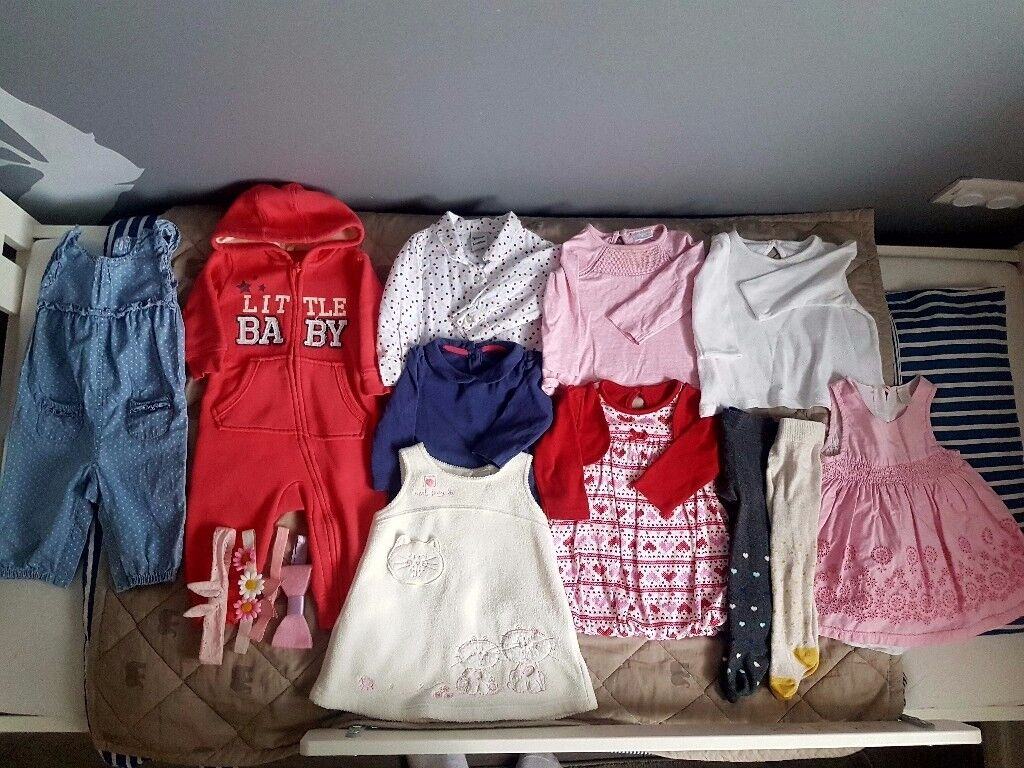 Baby girl large bundle 3-6 months