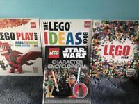 4 Lego books decent condition