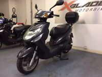 Yamaha NXC 125 Cygnus Automatic Scooter, Back Box, Fair Condition, Part ex to Clear