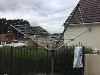 Rotary washing line and Brabant is cover